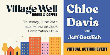 Conversation with author Chloe O. Davis tickets