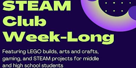 STEAM Club Week-Long tickets
