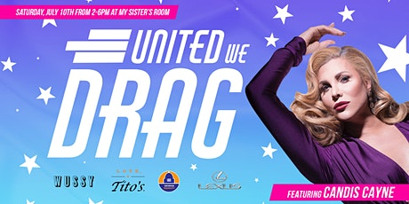 United We Drag with Candis Cayne: Fundraiser for GA Equality tickets
