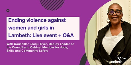 Violence Against Women and Girls public event- we want to hear your views tickets