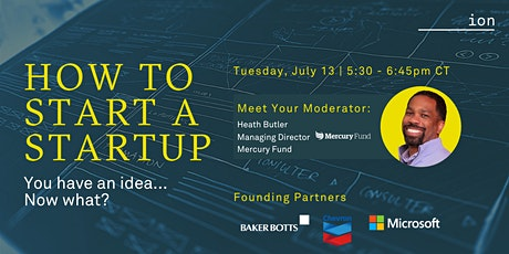 How to Start a Startup | Heath Butler, Mercury Fund tickets