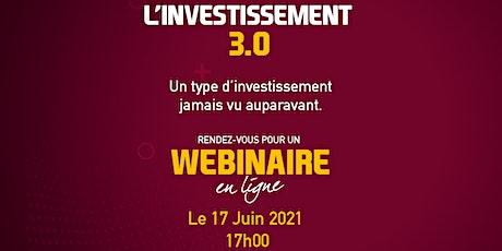 Investissement 3.0 billets