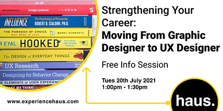 Strengthening Your Career: Moving From Graphic Designer to UX Designer tickets