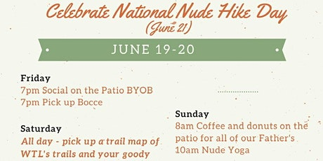 White Thorn Lodge Naked Hike Day tickets