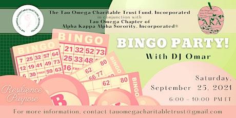 RWAP Bingo Party tickets