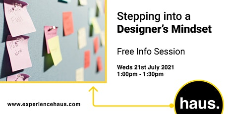Stepping Into a Designer's Mindset tickets