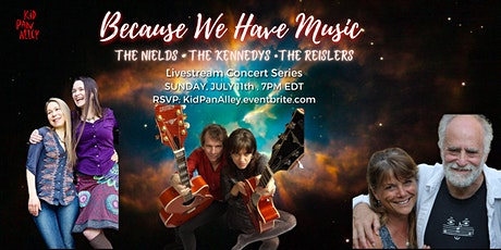 Livestream--The Nields, The  Kennedys and The Reislers Tickets