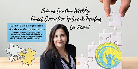 The Direct Connection Network Zoom Meeting with Andrea Constantino tickets