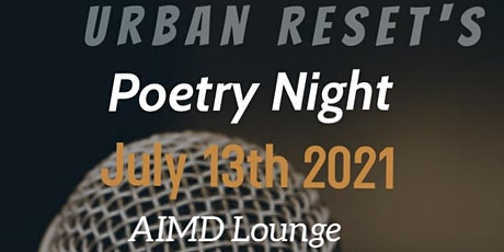 Urban Resets Poetry Night tickets