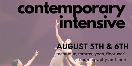 Contemporary Intensive tickets