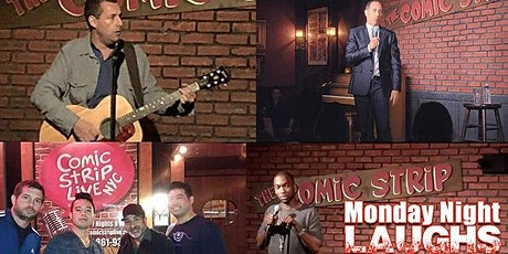 Comedy is Back! Free Tickets at the Comic Strip Live -  Standup Comedy tickets