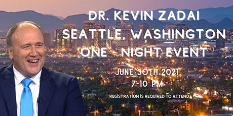 Join Dr. Kevin Zadai for a One-Night Event tickets
