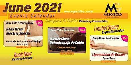 Master Class Quirodrenaje de Colon entradas