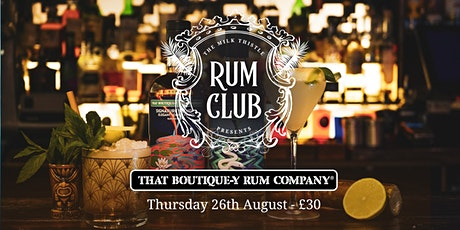 Boutique-y Rum Club at The Milk Thistle tickets