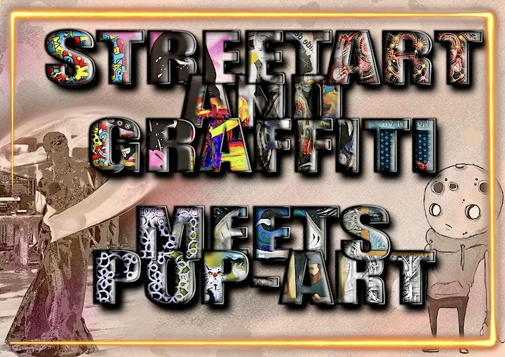 Streetart and Graffiti meets Popart: Bild
