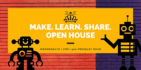 MakerSpace CLT Open House tickets
