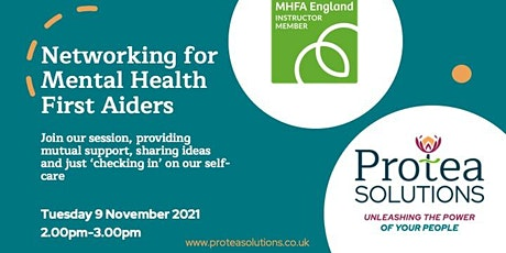 Networking for Mental Health First Aiders and Champions tickets
