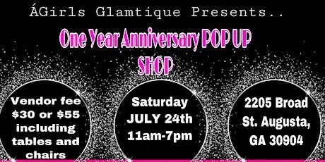 AGirls Glamtique Anniversary Popup Shop tickets