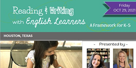 Reading and Writing with English Learners - October 29, 2021 tickets