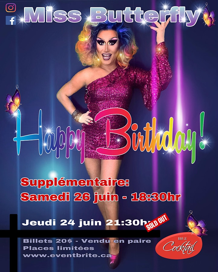 Miss Butterfly Birthday Supplémentaire image