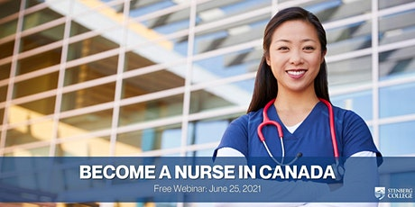 UAE: Becoming a Nurse in Canada – Free Webinar: June  25, 7 pm tickets