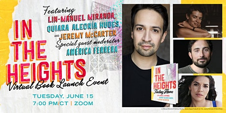 Elizabeth's Presents: In The Heights Virtual Book Launch Event tickets