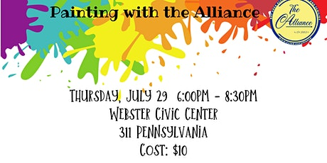 Painting with the Alliance July 29, 2021 tickets