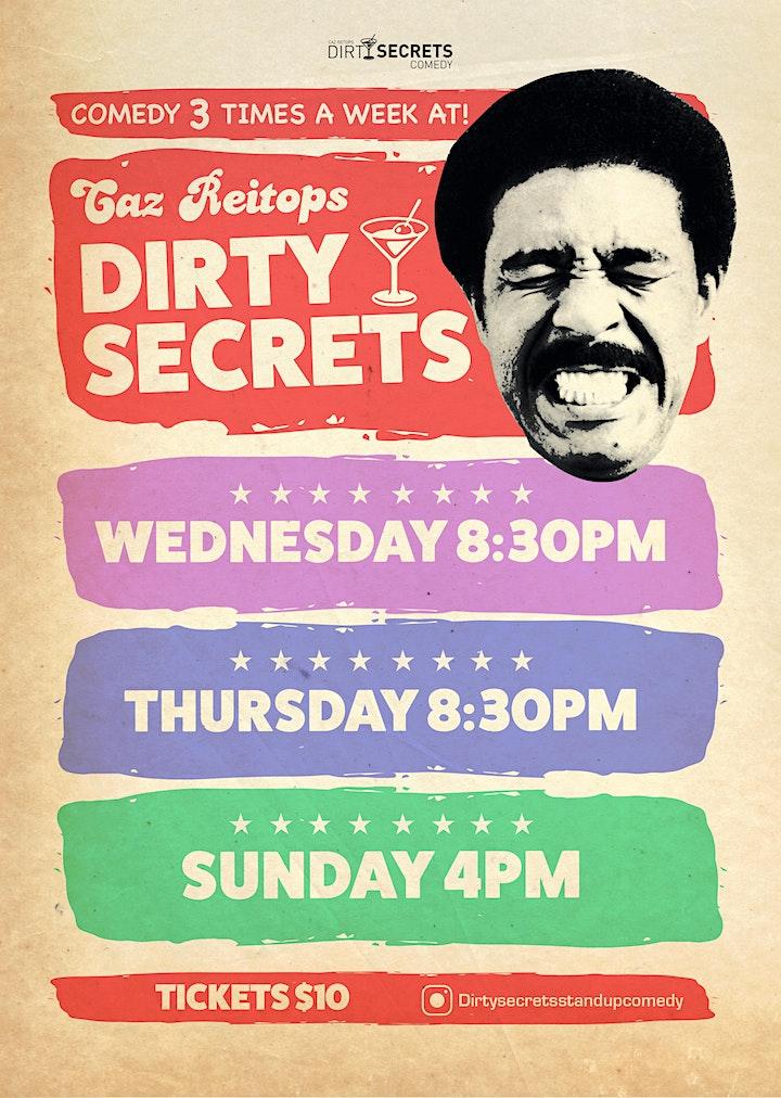 Dirty Secrets Comedy image