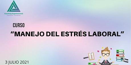 """Curso """"Manejo del Estrés Laboral"""" entradas"""