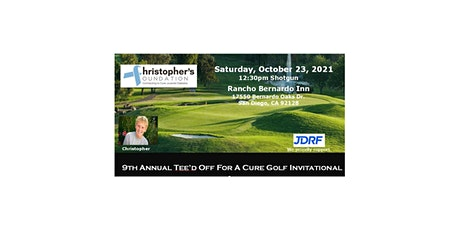 Christopher's Foundation Annual TEE'D OFF FOR A CURE, Oct 23, 2021 tickets