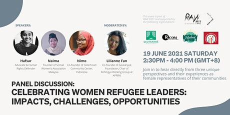 Celebrating Women Refugee Leaders: Impacts, Challenges, Opportunities tickets