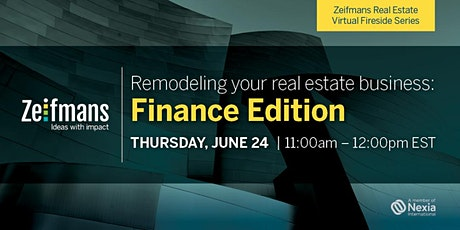Remodeling your real estate business: Finance Edition tickets