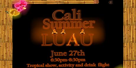 Cali Summer Luau tickets