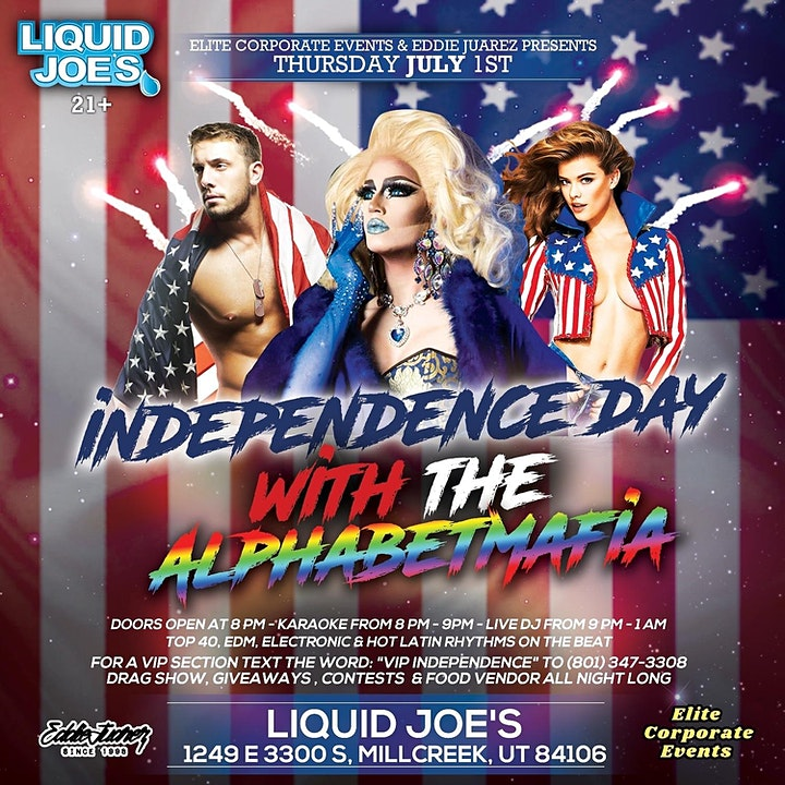 Independence Day with The ALPHABETMAFIA image