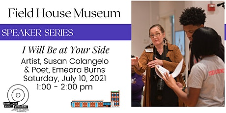 """Speaker Series: """"I Will Be at Your Side"""" with Susan Colangelo tickets"""