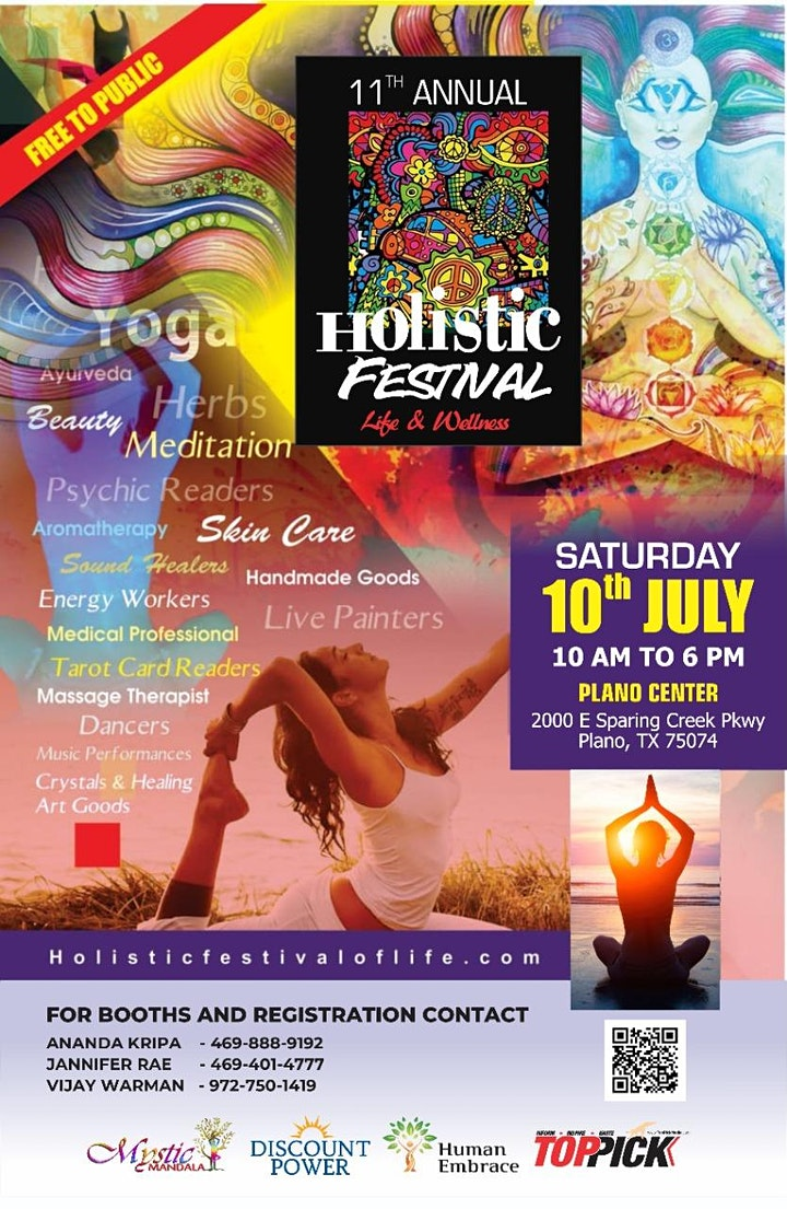11th Holistic Festival of Life and Wellness image