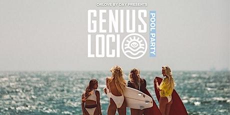 Genius Loci BRUNCH & POOL PARTY tickets