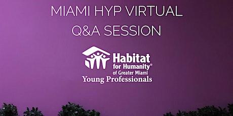 Habitat Young Professionals' Virtual Q&A Session tickets