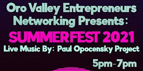 Summerfest Oro Valley Networking Happy Hour tickets