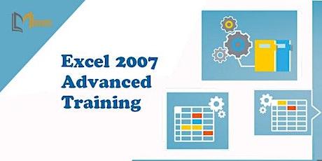 Excel 2007 Advanced 1 Day Training in St. Gallen tickets