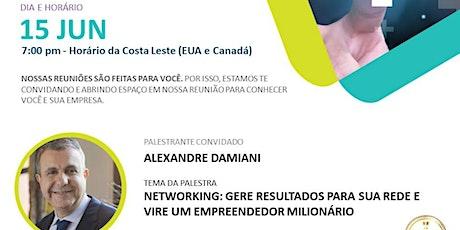 NETWORKING: GERE RESULTADOS PARA SUA REDE E VIRE UM EMPREENDEDOR MILIONÁRIO bilhetes
