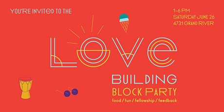LOVE Building Block Party (Celebrating the LOVE Building/Campus) tickets