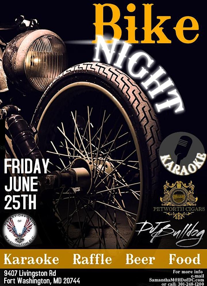 June  Bike Night image