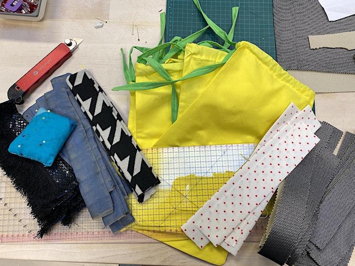 Fashion- und Streetwear-Lab: Nähen, kleben, upcyclen - Ferienwoche: Bild
