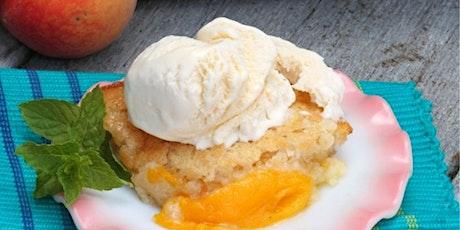 FREE Cooking Class: Classic Peach Cobbler tickets