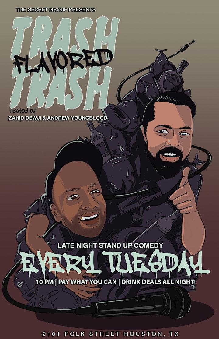 TRASH FLAVORED TRASH: Trashed Stand Up for Trash People image