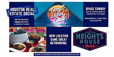Houston Super Real Estate Social 6/23/21 tickets