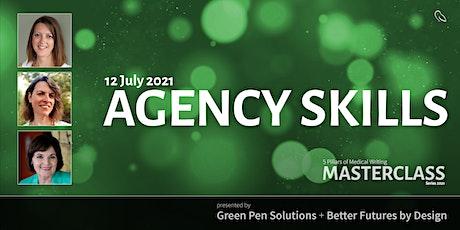 5 Pillars of Medical Writing Masterclass: Agency Skills tickets