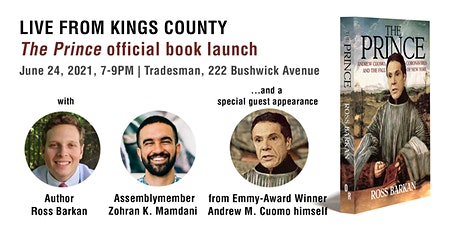 """Book Launch: """"The Prince"""" by Ross Barkan tickets"""