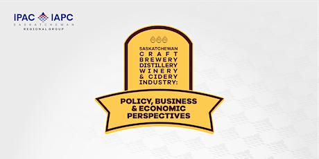 Saskatchewan Craft Industry: Policy, Business & Economic Perspectives tickets